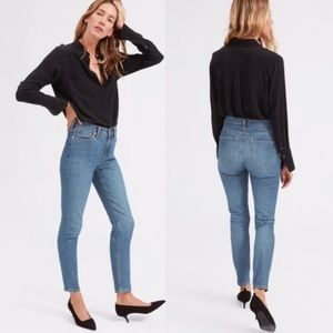 Everlane Mid Rise Skinny Stretch Jeans Womens 27